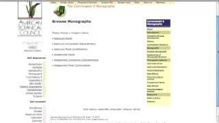 ABC Library - Expanded Commission E Monographs: Herbal Medicine