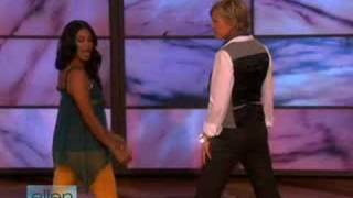 ellen shapes her bollywood booty!