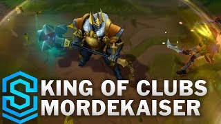 King of Clubs Mordekaiser 2019 Skin Spotlight - League of Legends