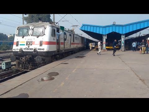 12392 Newdelhi-Rajgir Shramjeevi superfast Express Departs at Newdelhi