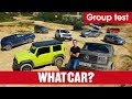 Best 4x4s 2019 – What's the best off-roader you can buy? Jeep, Jimny, G-Wagen, & more | What Car?