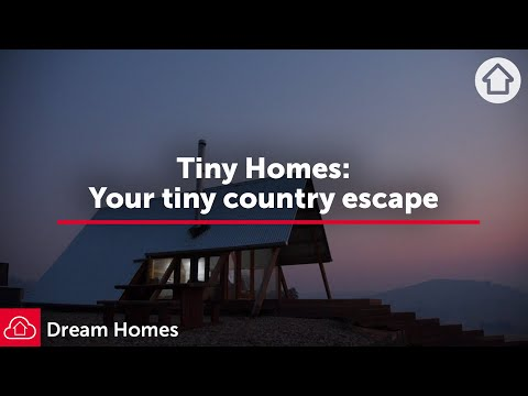Your Tiny Country Escape: Tiny Homes