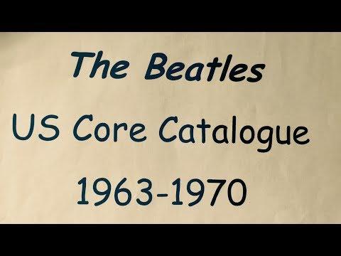 The Beatles US Core Catalogue 1963-1970 (Albums & Singles)