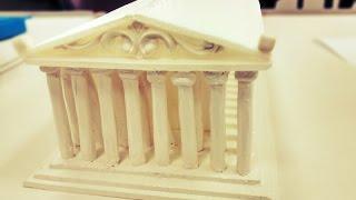 Time Lapse - Construção da maquete do Partenon
