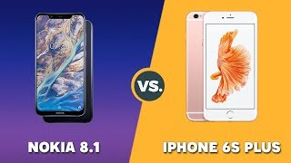 Speedtest Nokia 8.1 vs iPhone 6S Plus: Snapdragon 710 vs Apple A9 !!!
