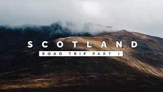 DRIVING TO THE HIGHLANDS — Scotland Road Trip Vlog 1/2