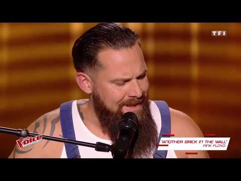 Will Barber - Another Brick In the Wall [The Voice 2017 Blind Audition]
