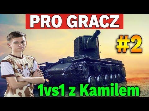 PRO GRACZ - 1vs1 z Kamilem #2 - World of Tanks