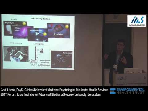 The Psycho-Social Effect of Screens on Children's Wellbeing: Dr. Gadi Lissak