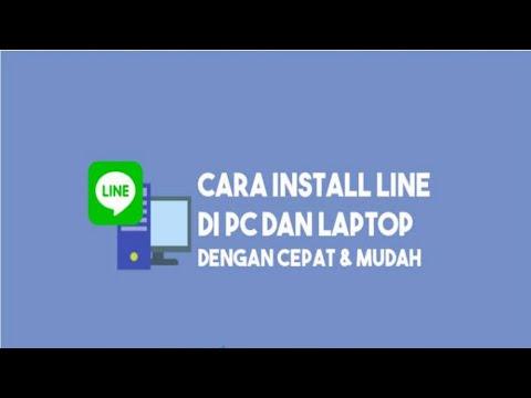 Cara download dan instal Line di PC atau di Laptop