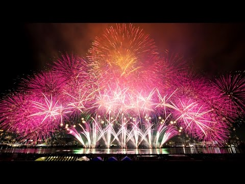 [公式]第27回 なにわ淀川花火大会 2015 大阪 Naniwa Yodogawa Fireworks Festival Osaka Japan