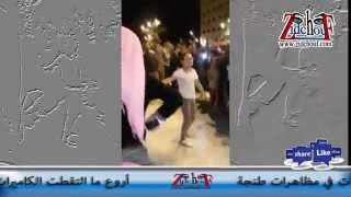 أروع ما التقطت الكاميرات في مظاهرات طنجة