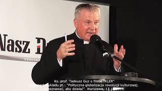 """Ks. prof. Tadeusz Guz o filmie """"Kler"""". Warszawa, 13.10.2018"""