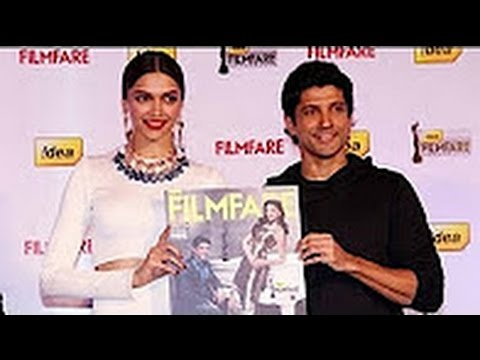 Filmfare Best Actor And Actress Award Winner On Cover Page Of Their Magazine