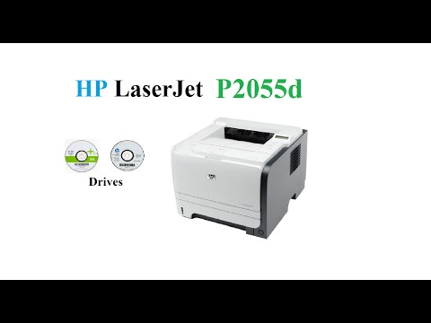 HP LaserJet P2055d  | Driver