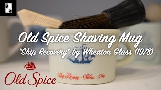 Video Old Spice Shaving Mug Ship Recovery by Wheaton Glass (1978) download MP3, 3GP, MP4, WEBM, AVI, FLV Agustus 2018
