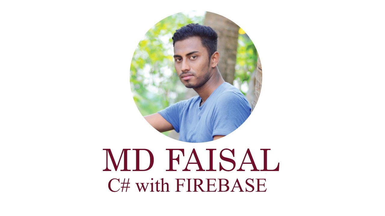 Firebase Introduction with C#