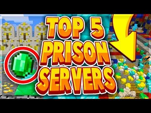 TOP 5 BEST MINECRAFT PRISON SERVERS 2019 - 1.8/1.9/1.10/1.12.2/1.13.2/1.14 2019 [HD]