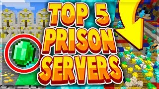 TOP 5 BEST MINECRAFT PRISON SERVERS 2019 - 1.8/1.9/1.10/1.12.2/1.13.2/1.14 2019 [HD]