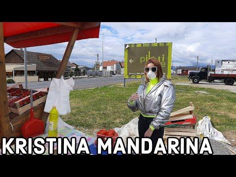 Podsusedski Most Kristina Mandarina Na Standu S Jagodama Youtube