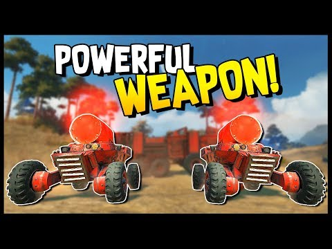 Crossout -  SECRET MILITARY WEAPON! - Fuze Drone, BC-17 Tsunami, Goblin & Spike - Crossout Gameplay