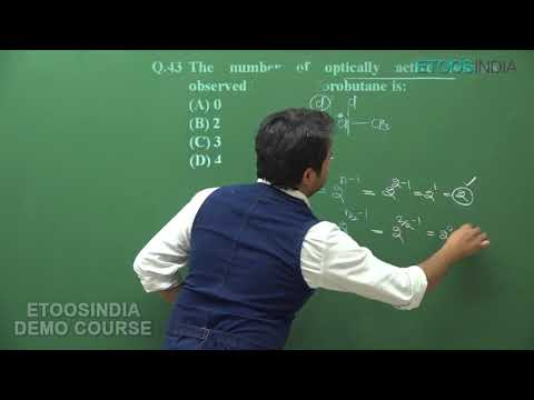 Isomerism Video Lectures for JEE Main and Advanced by DT Sir