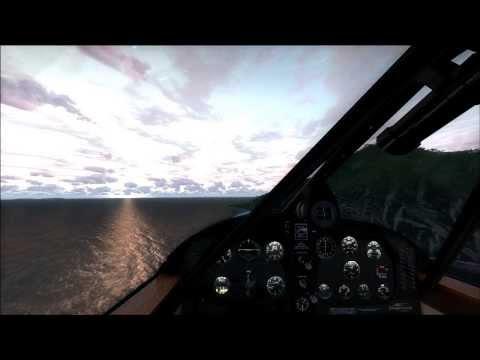 [FSX] - Beechcraft 17 Staggerwing, Saba landing (J. Yrausquin airport)