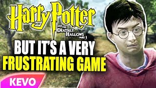 Deathly Hallows Part 1 but it