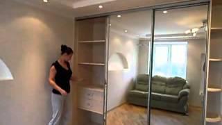 видео встроенный гардеробный шкаф