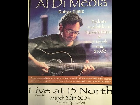 Al Dimeola Master Class 17 North 20 March 2004