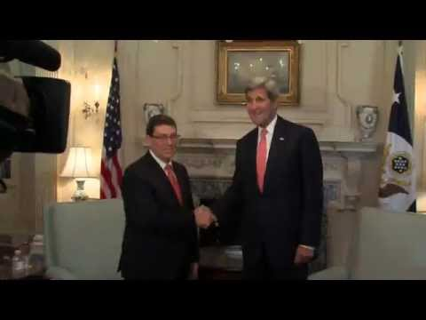 Secretary Kerry Meets with Cuban Foreign Minister Rodríguez