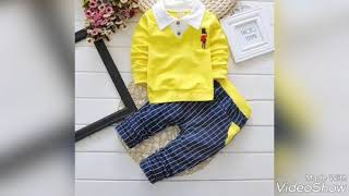 Baby Boys outfit dresses full latest designs fashion & style 2018