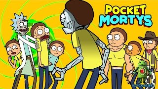 Pocket Mortys (iOS/Android) Gameplay HD