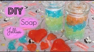 DIY Lush Inspired Valentines Day Soap Jellies