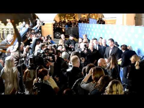 Johnny Depp arrives at Santa Barbara International Film Festival