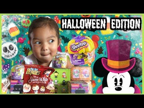 Halloween Edition Shopkins, Simpsons, Snow White Pint Sized, Shopkins Asia