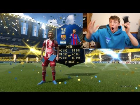 4 TOTY PLAYERS IN THE GREATEST FIFA 17 PACK OPENING EVER!!!