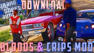 """How to download & install the """"Bloods & Crips Mod"""" + Gang Mod! 