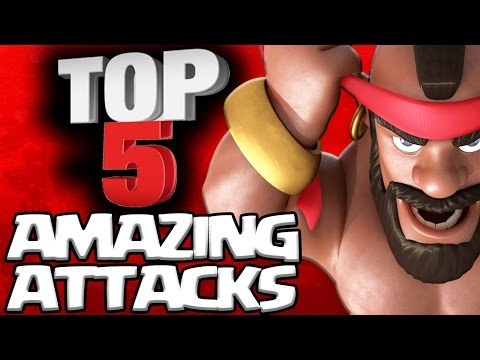 TOP 5 BEST TH9, TH10 3 STAR ATTACKS in CLASH OF CLANS YOU MUST SEE!!