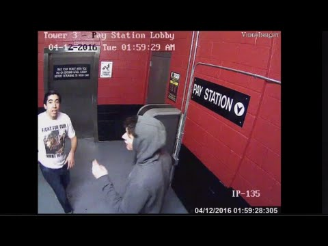 2 suspects remove security camera in parking garage