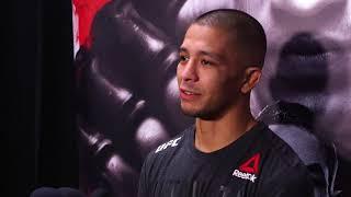 John Moraga explains his strange post-fight interview