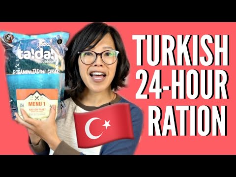🇹🇷TURKISH 24-Hour MRE