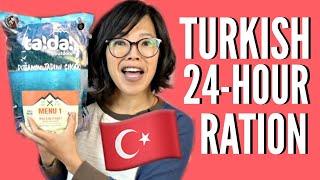 Download 🇹🇷TURKISH 24-Hour MRE Ration Taste Test Mp3 and Videos