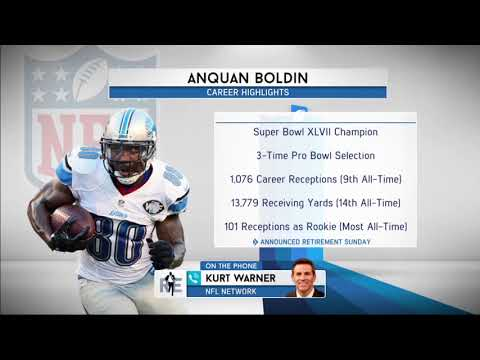 Kurt Warner Reacts to Retirement of Former Teammate Anquan Boldin | The Rich Eisen Show | 8/21/17