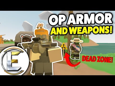 Finding OP Armor And Weapons - Unturned RP Rags To Riches Roleplay #5 (Life Is Easy With A Gas Mask)