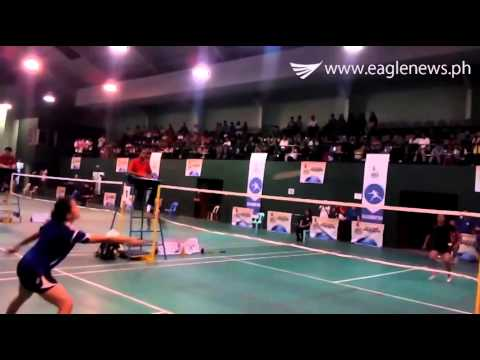 Semi-Final match between North Luzon and South Luzon -Badminton