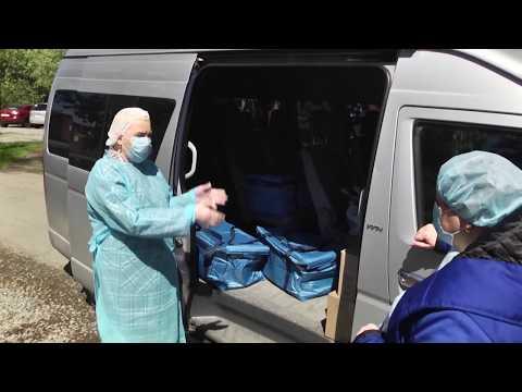 Медики Ревды поблагодарили НЛМК-Урал за горячее питание