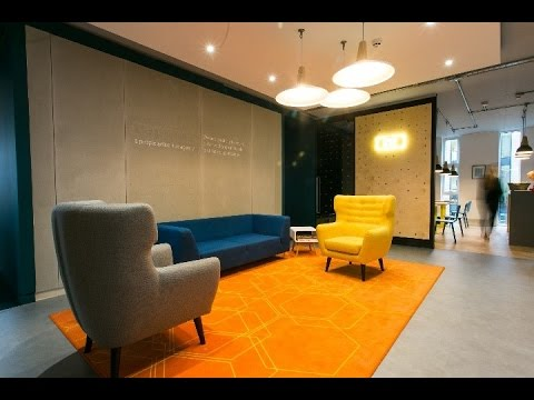 the hive northern quarter manchester office fit out by select