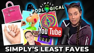 Simply's Least Favourite Things - SimplyPodLogical #23