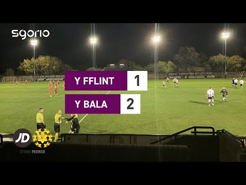 Flint Bala Town Goals And Highlights